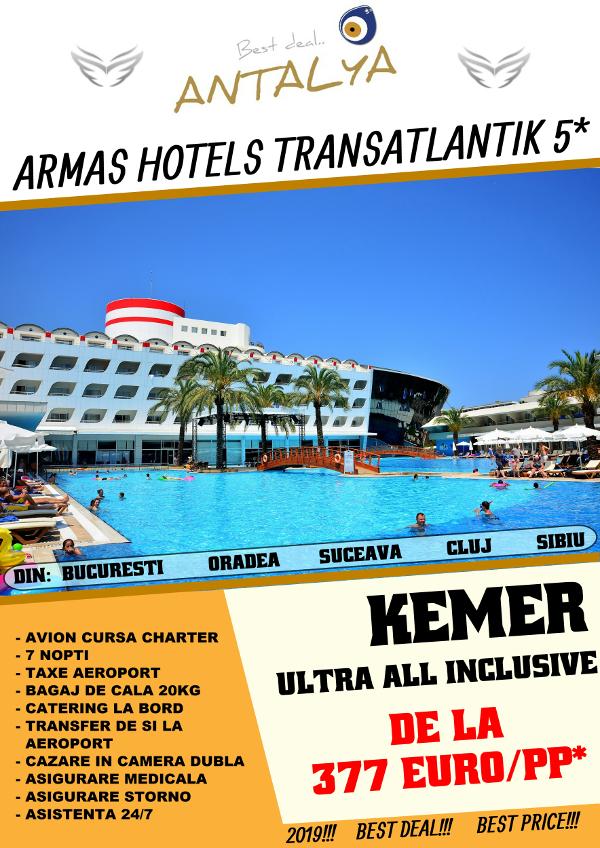 ARMAS HOTELS TRANSATLANTIK 5*