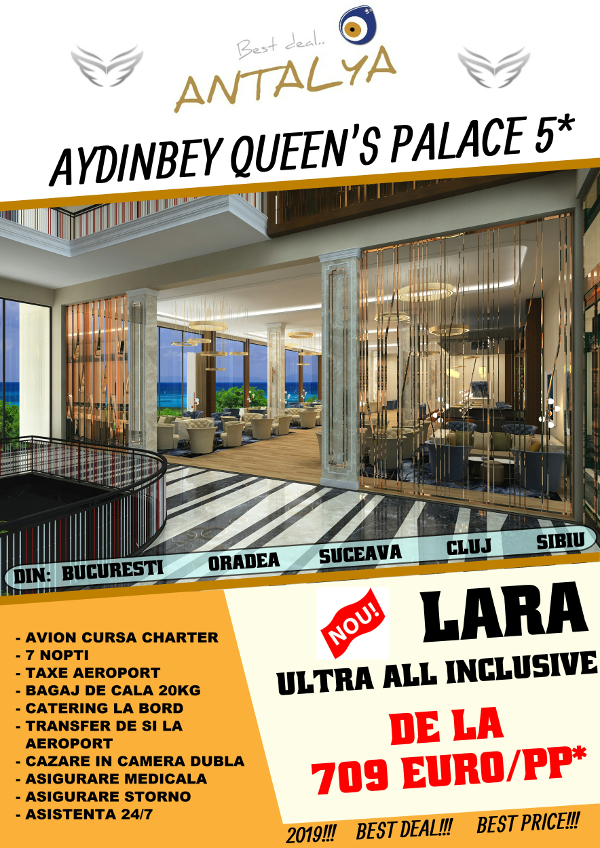 Aydinbey Queen`s Palace -Lara