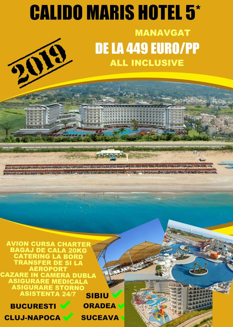 Early Booking Antalya 2019 hotel Calido Maris