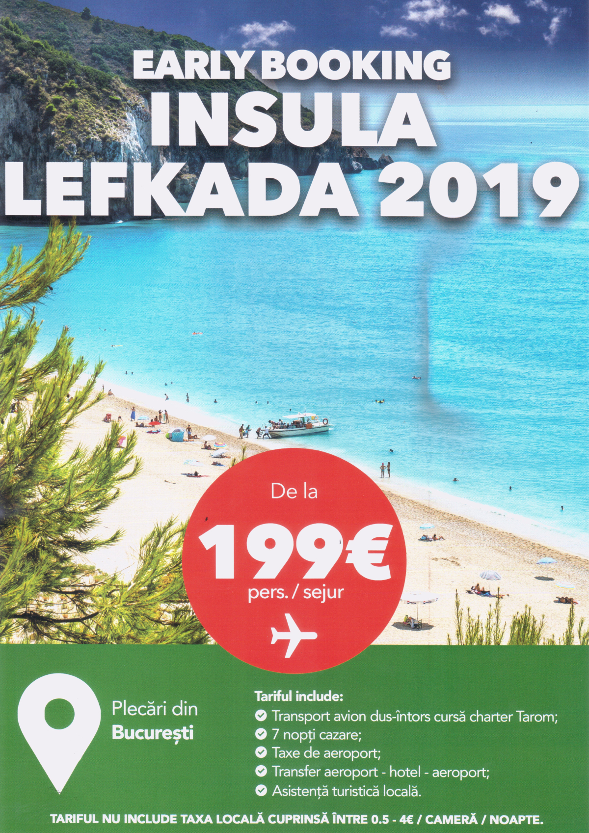 early booking lefkada 2019