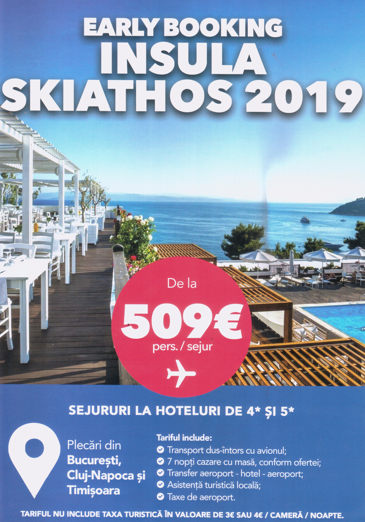 Early booking Skiathos 2019