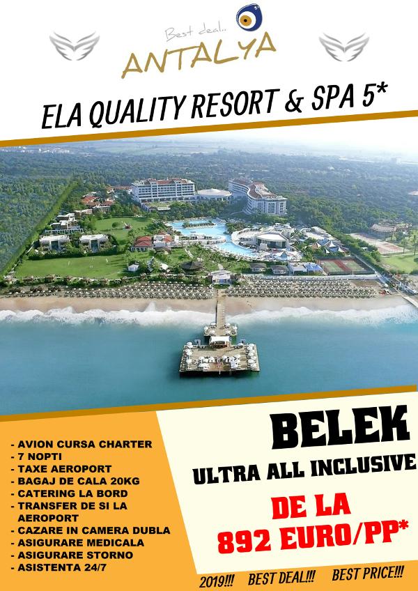 Ela Qaulity Resort & SPA