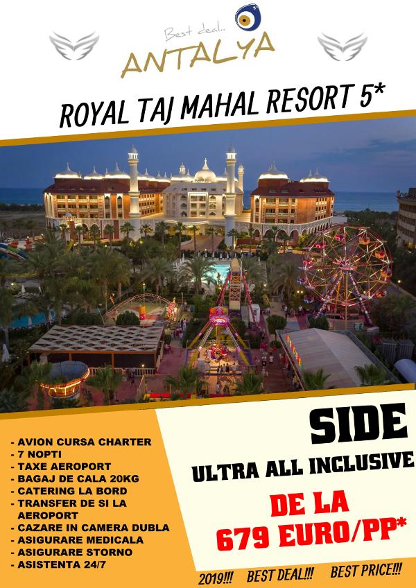 ROYAL TAJ MAHAL 5* Antalya