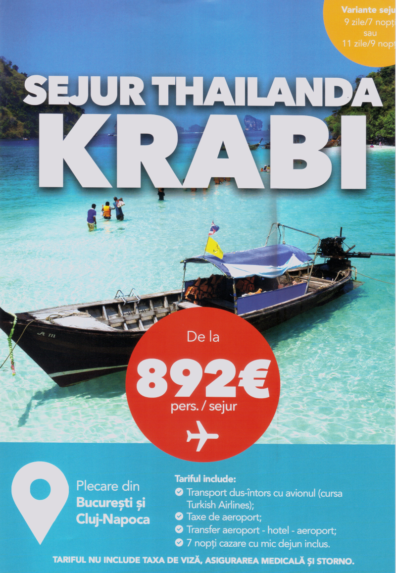 Sujur Krabi Thailanda