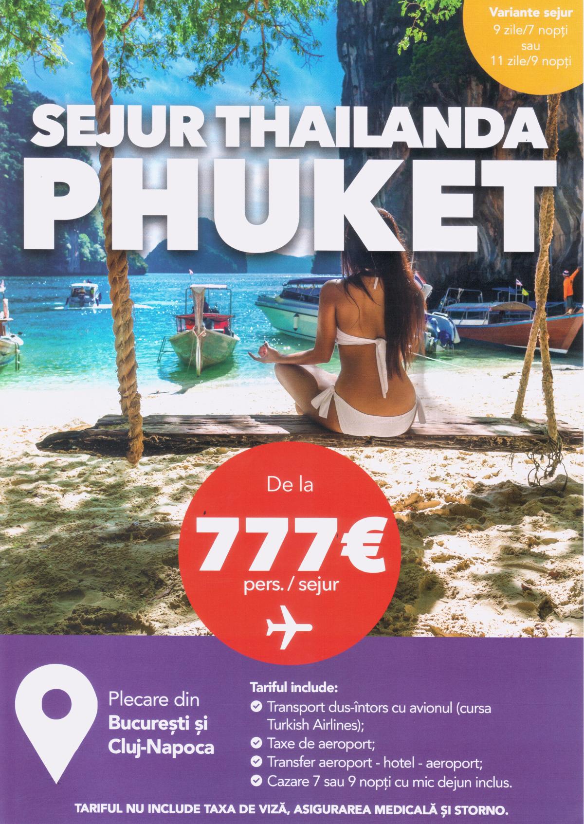 Sejur Phuket Thailanda