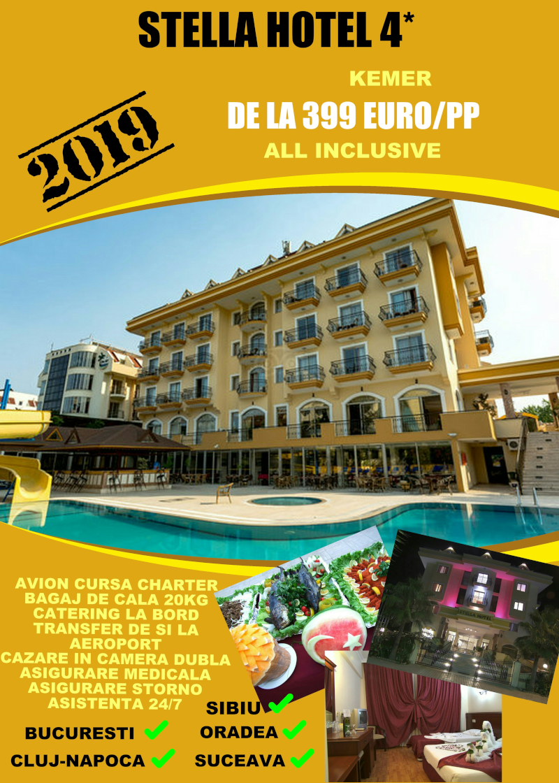 Early Booking Antalya 2019 hotel Stella