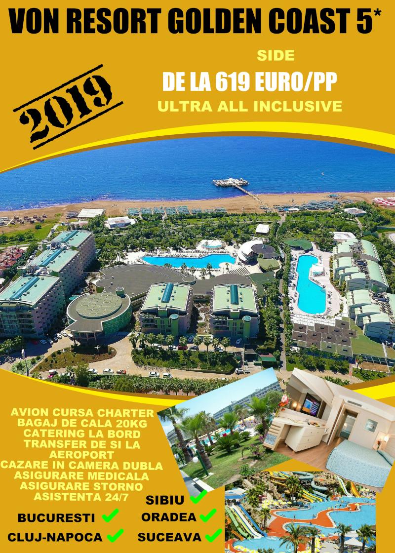 Early Booking Antalya 2019 Von Resort Golden Coast